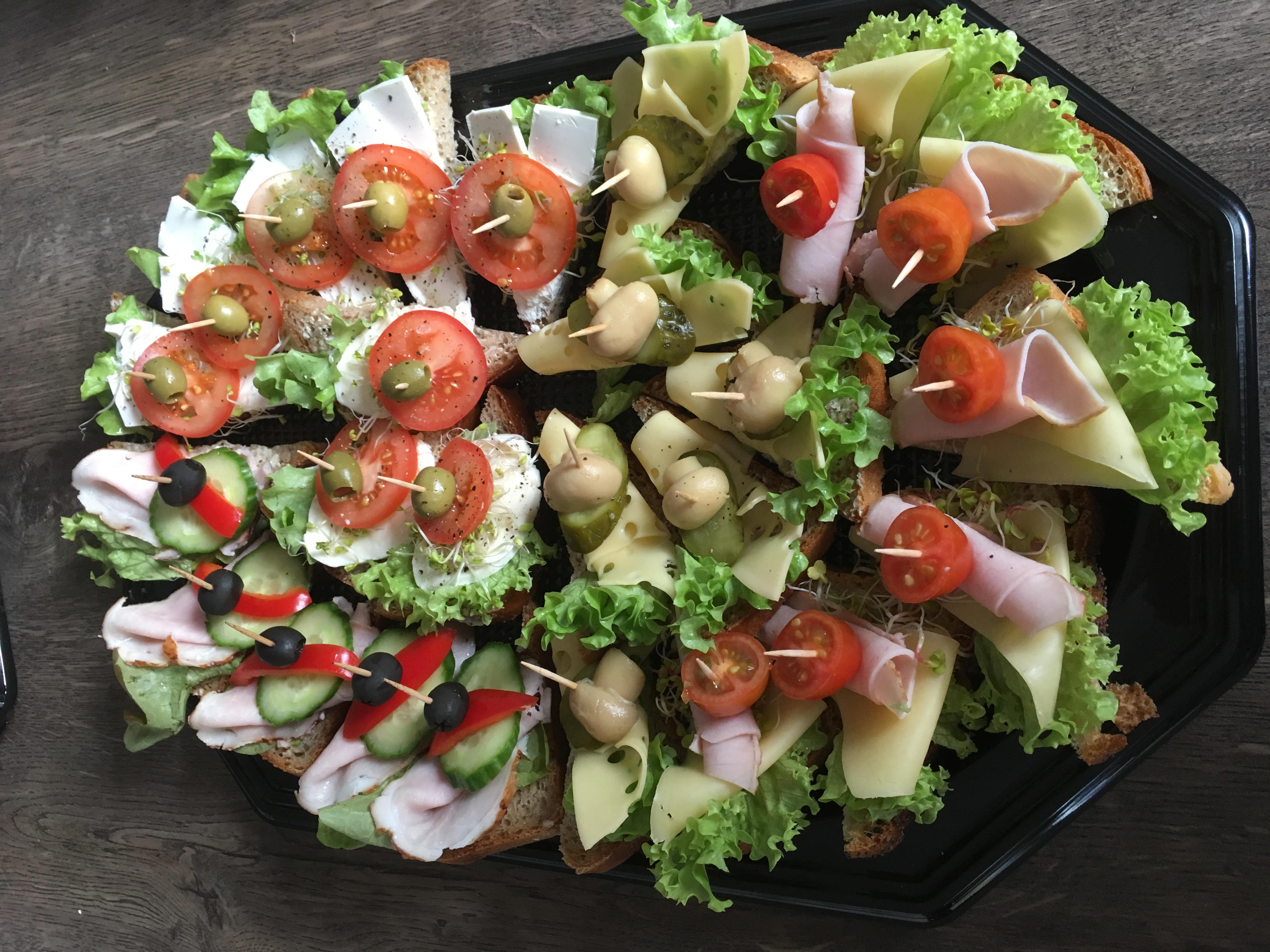 Catering Dla Firm Kanapki Finger Food Obiady Katowice