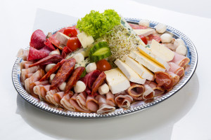 Mix wędlin i serów - zdjęcie poglądowe